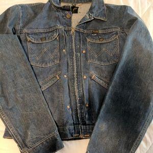 Vintage Unisex Wrangler Jean Jacket